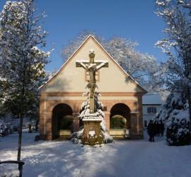 Winter im Alten Friedhof (Foto: Michael Managò)